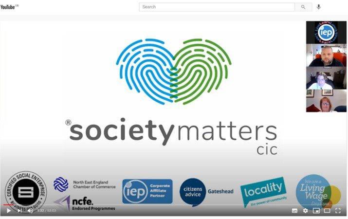 Team helps IEP members with Universal Credit Webinar